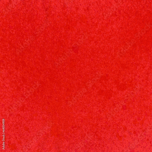Red paper texture. Abstract watercolor background