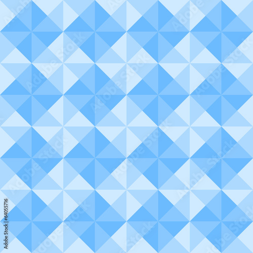 Blue triangle pattern5
