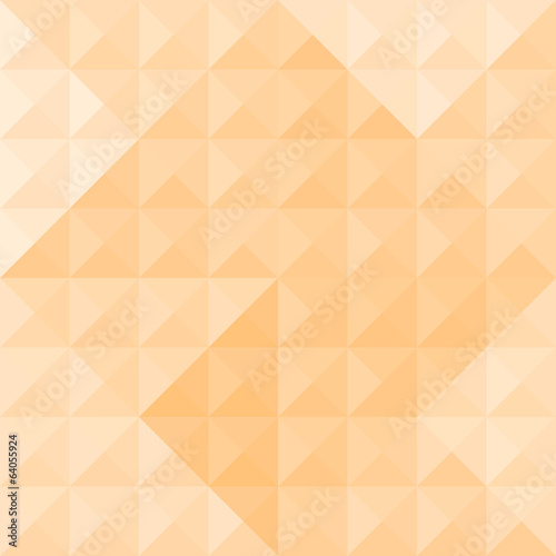 Orange triangle pattern2