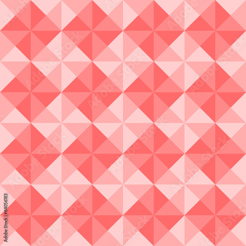 Red triangle pattern1