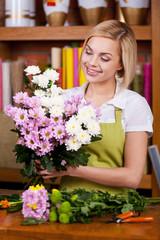 Flowers arrangement.