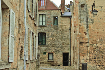 Old town Laon, France
