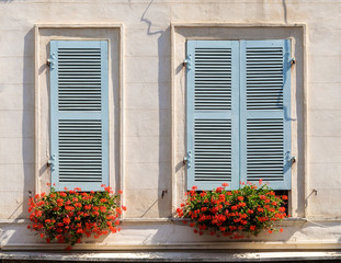 Building facade in Bayonne