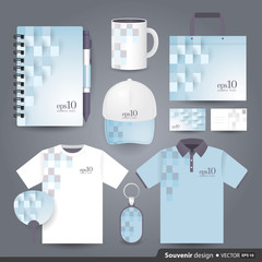 Gift set template, Corporate identity design.