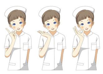看護師 ポーズ