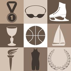 Sport. Icon Set