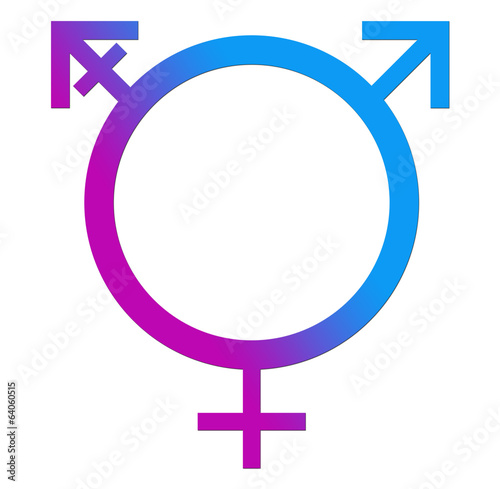 Third Gender Blue Pink Circle