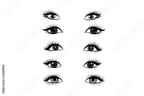 Eyes -  vector collection