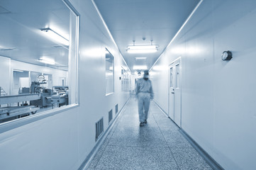 Pharmaceutical companies, pharmaceutical production line