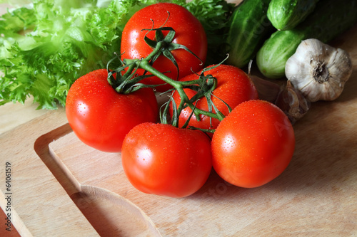 ripe vegetable