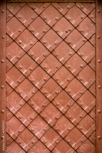 metal door decoration