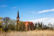 canvas print picture - Kirche in Wustrow.