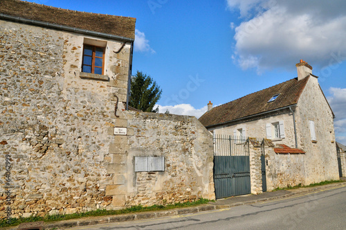 France, the village of Fremainville