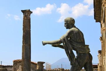 Temple d'Apollon à Pompéi - Italie