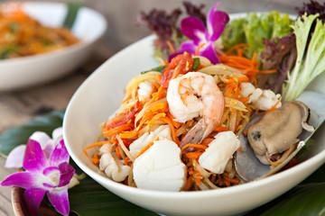 Thai Seafood Som Tum Salad