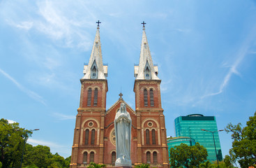 Notre-Dame of Saigon, Ho Chi Minh city, Vietnam