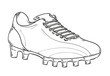 football boots sketch