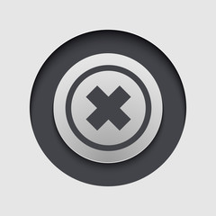 Vector modern circle icon. Eps10