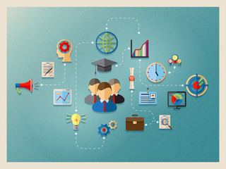 education and management in web