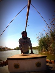 Barquero en El Palmar