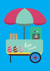 ice cream design elements