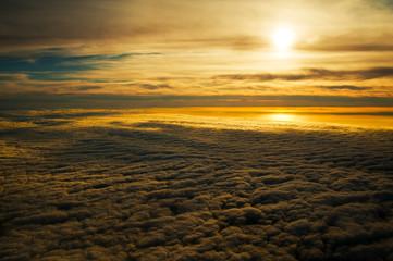 Tranquil Golden Sunset