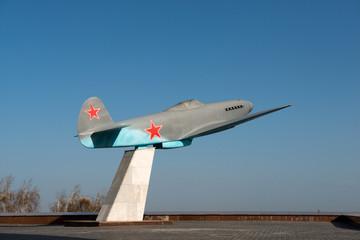 Fighter YAK-3 - airplane from Wolrld War II