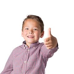 Happy Thumb, freigestellt