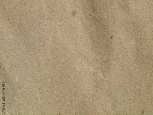 canvas print picture Brown paper