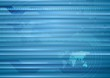 Abstract blue striped tech background