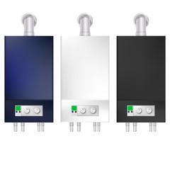 Illustration of boilers