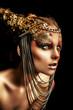 bronze lady
