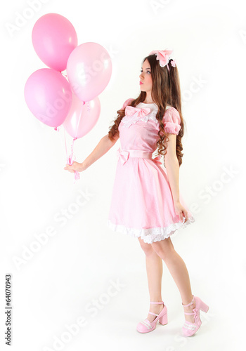 with balloon