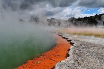 Géothermie à Wai-e-Tapu