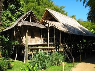 Cabane laotienne