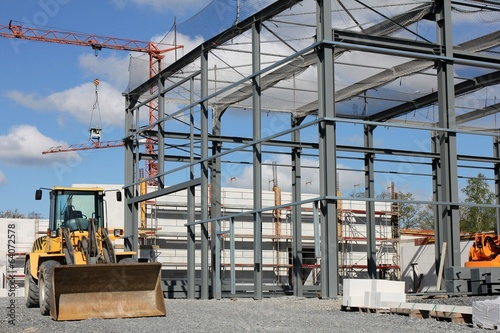 Neubau einer Gewerbehalle - 64072578