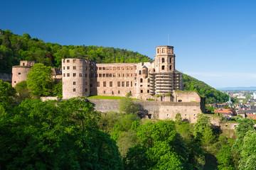 Heidelberger Schloss im Sommer