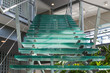 Glass stairway in a modern office building - 64075774