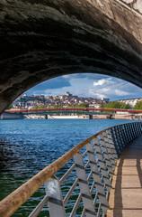 Quai de Saône à Lyon