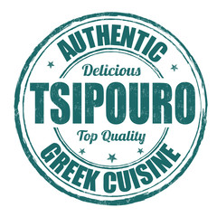 Tsipouro stamp