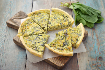 French quiche pie