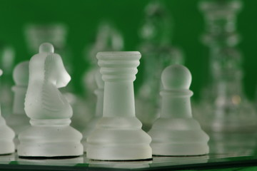 Chess close up.