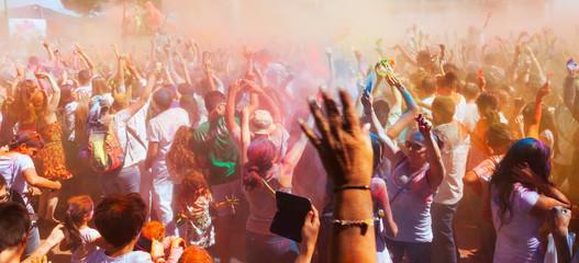 Festival Holi in Barcelona