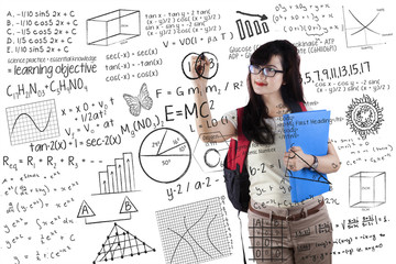 Smart student writes formula