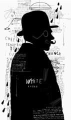 Мужчина в шляпе и пенсне