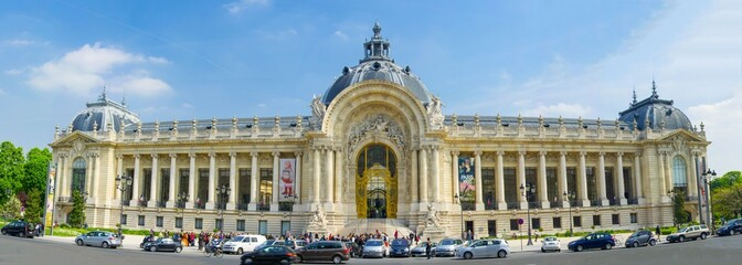 Petit Palais à Paris en France