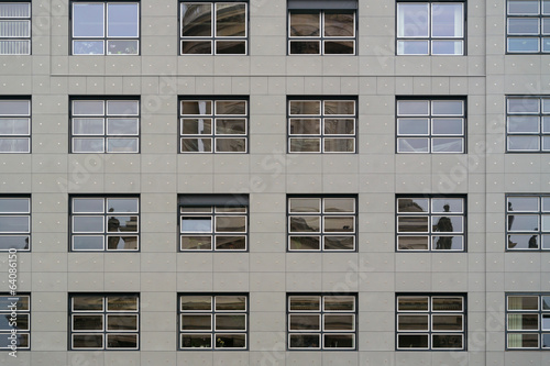Windows of office buildings. Background.