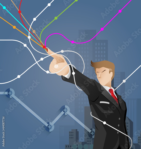 Business and financial concept vector