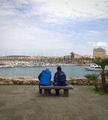 Alghero vista porto