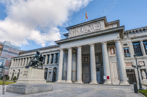 Prado Museum in Madrid, Spain